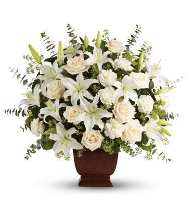 Loving Lilies and Roses Bouquet